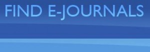 "Banner for ""Find E-Journals"""
