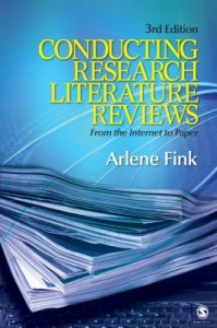 Book Cover of Conducting Literature Reviews by Fink