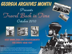 Georgia Archives Month 2010