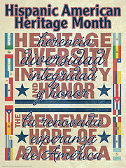 Hispanic American Heritage Month Poster