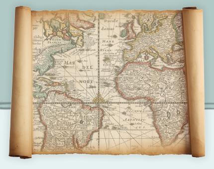 Slave voyage map