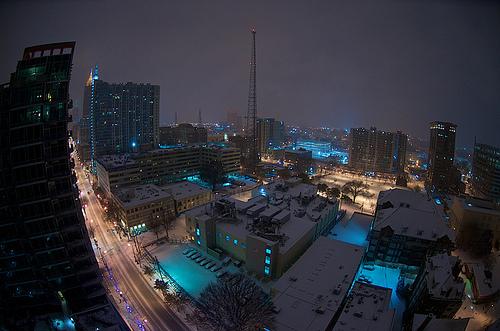 Atlanta Snow Storm. Photo courtesy of David Smith.