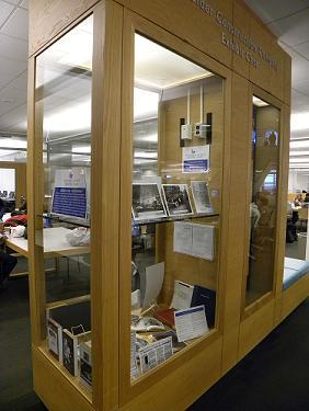 Exhibit Case Library North