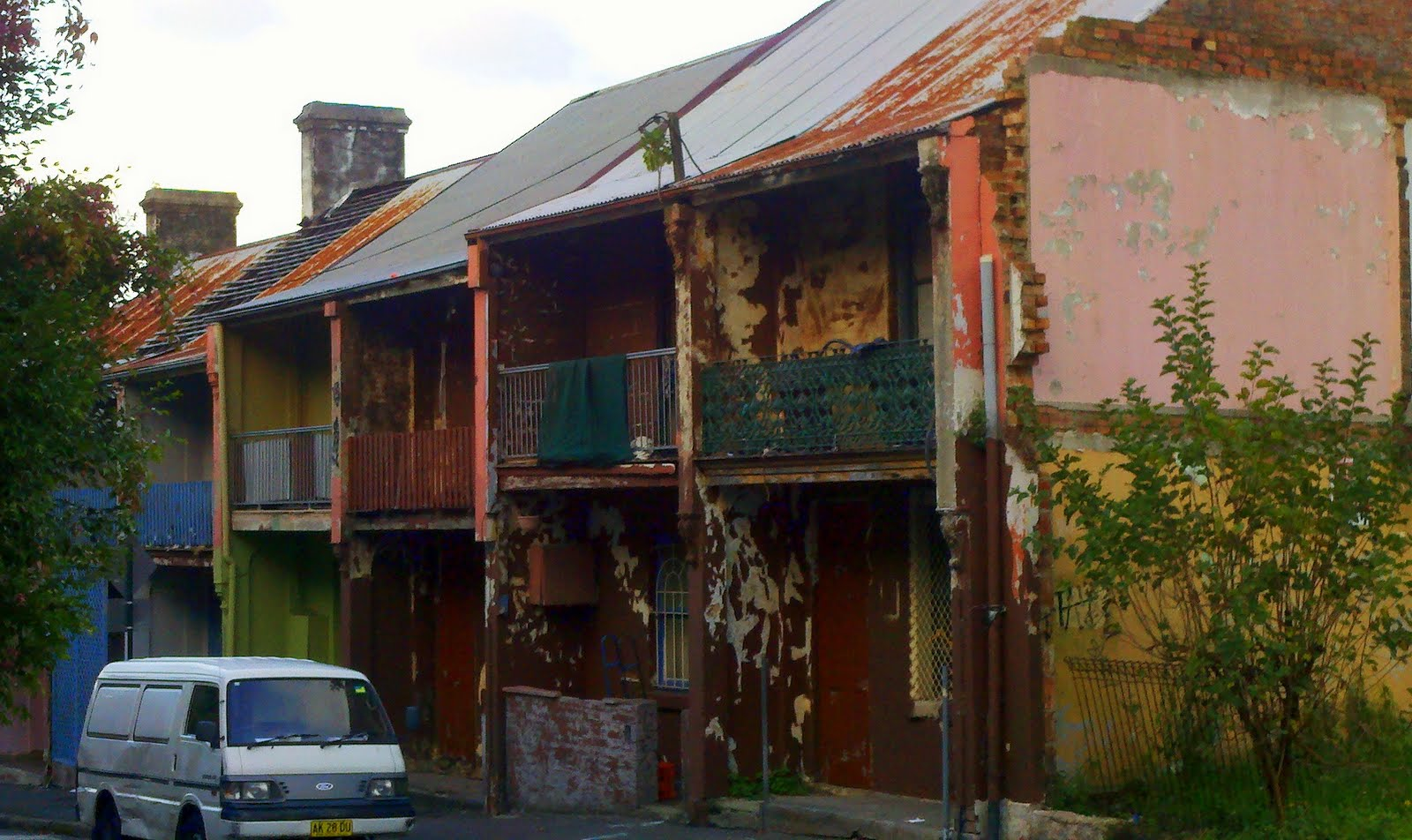 Hidden Slums of Sydney