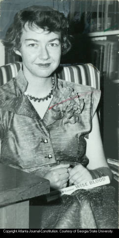 Flannery O'Connor, 1952.