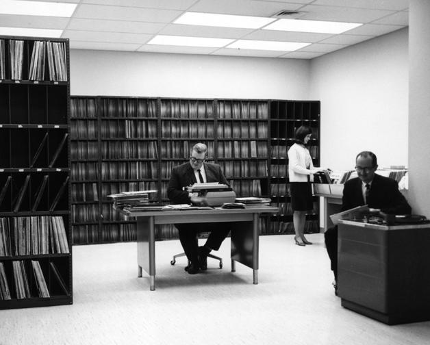 WSB Radio record collection, circa 1960s