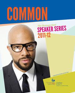 Common to speak at GSU's Distinguished Speaker Series