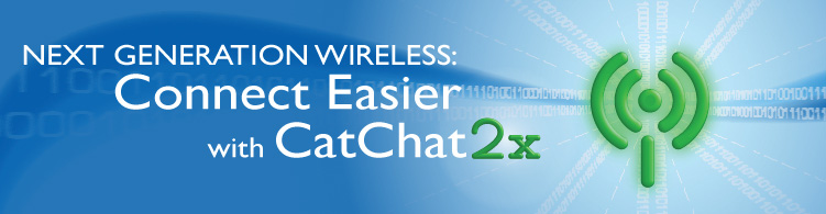 Cat Chat 2x banner ad