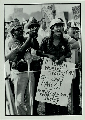 PATCO strike image