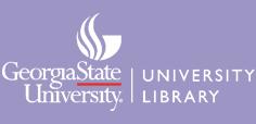 Georgia State University Library Logo