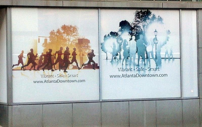 Signs at Atlanta Underground