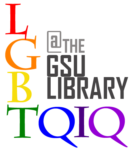 logo, LGBTQIQ at the GSU Library