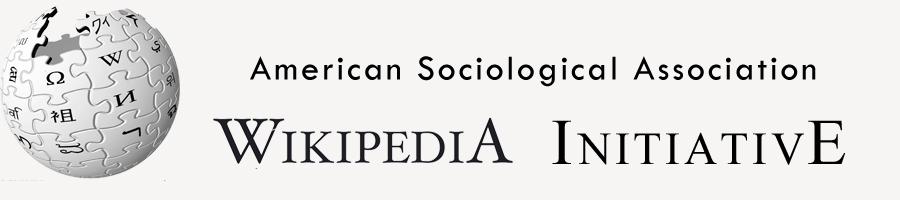ASA Wikipedia Initiative banner