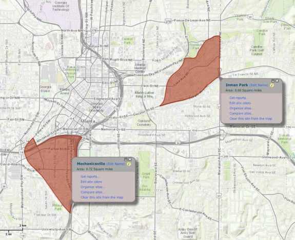 Business Analyst Neighborhood Selection Tool