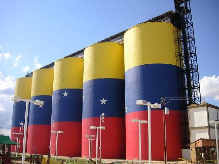 Colors of Venezuelan flag