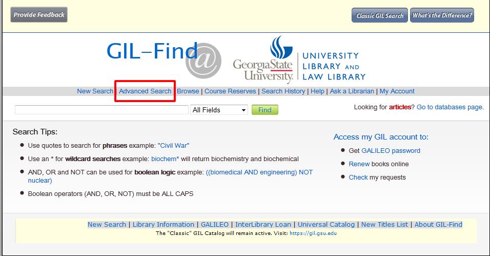 GIL Find Instructional Image 1