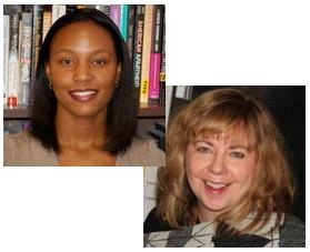 GSU Sociology Professors Tomeka Davis and Deirdre Oakley