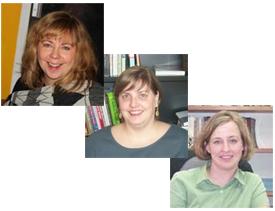 GSU Sociology Professors Deirdre Oakley, Erin Ruel, & Lesley Reid