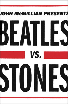 cover image, John McMillian, Beatles vs. Stones