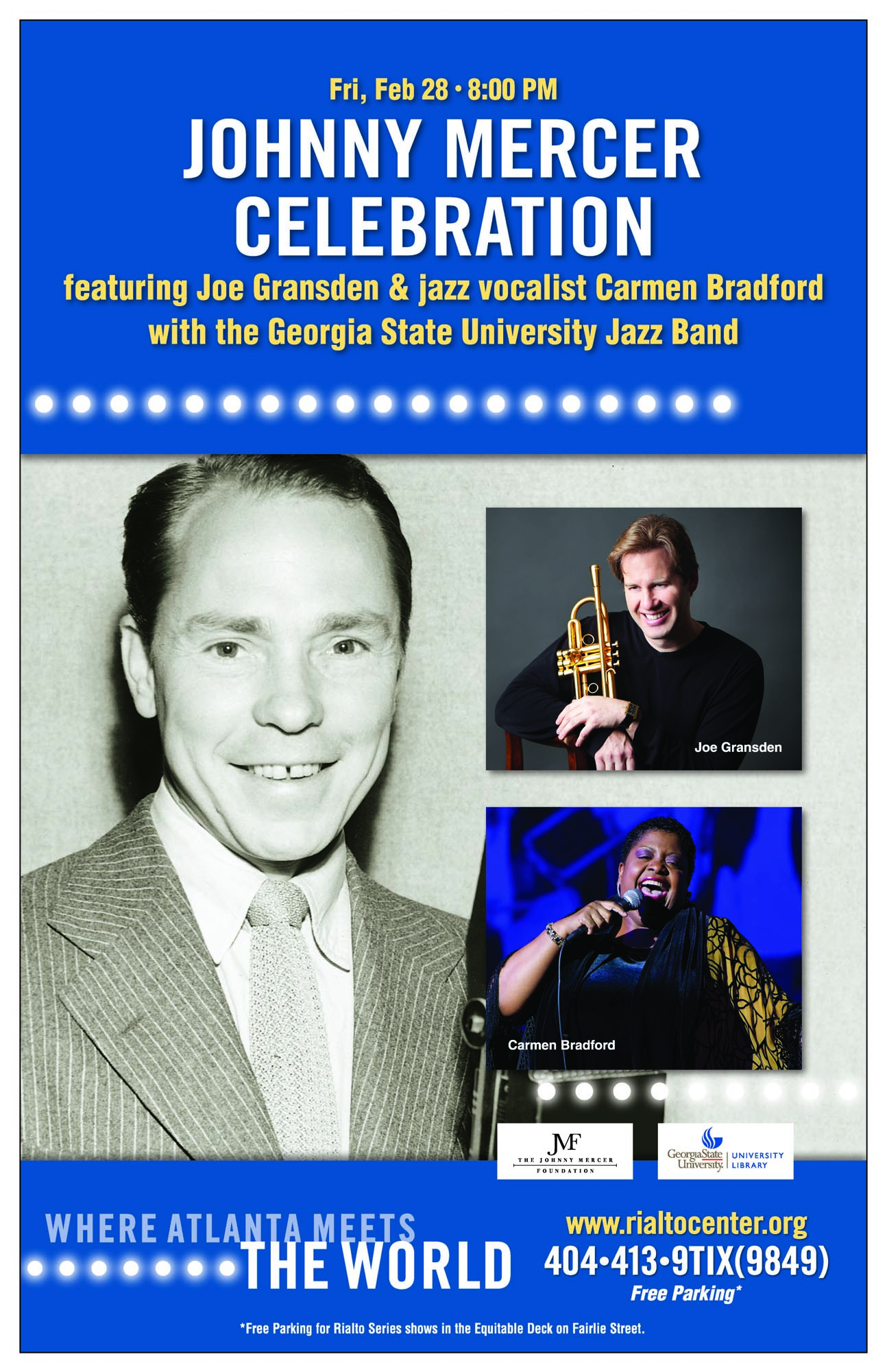 Johnny Mercer Celebration Concert