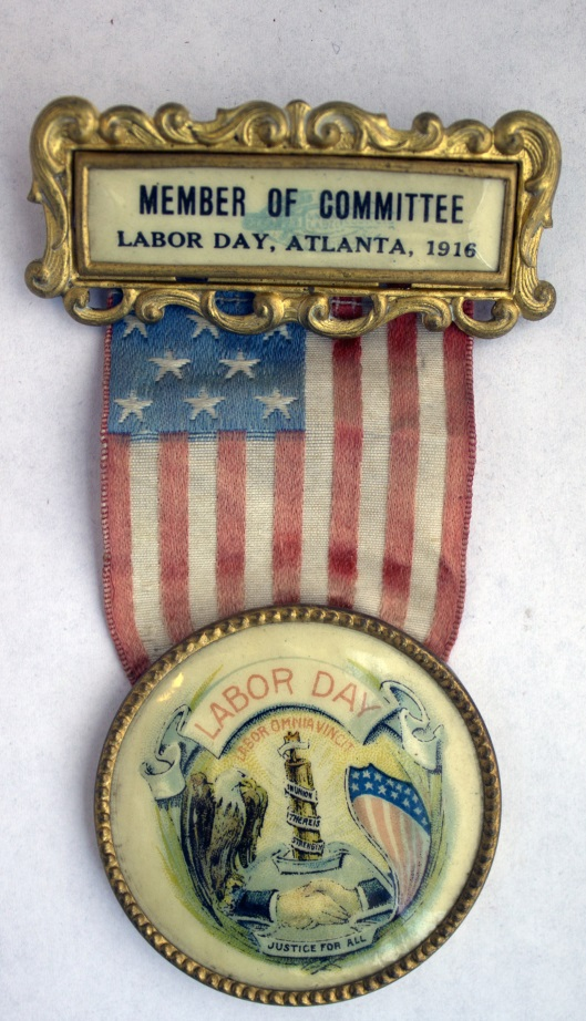 Labor Day 1916 ribbon