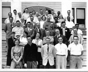 Attendees to CIO Leadership Training, 1954, Lake Junaluska, North Carolina. [ L1984-70_265]