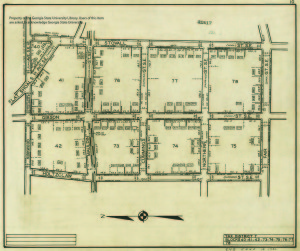 Atlanta Cadastral Survey map, Tax District 7 (Reynoldstown)