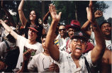 Audience at Juneteenth Celebration and Black Music Month, Atlanta, Georgia, June 20, 1993. Special Collections and Archives, Georgia State University Library.