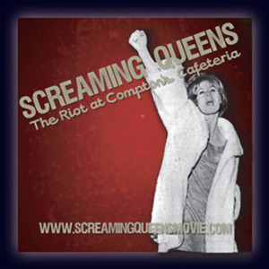 film logo, Screaming Queens: The Riot at Compton's Cafeteria