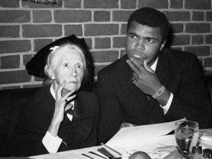 Muhammad Ali in collaboration with Marianne Moore. They were introduced by George Plimpton.