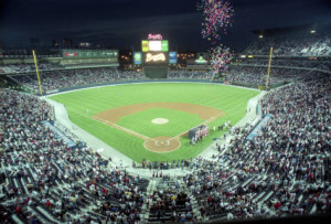 The Braves' opening night at Turner Field, April 4, 1997 [AJCNL1997-04-04-01c]