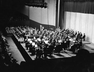 Atlanta Symphony Orchestra at the Municipal Auditorium, 1967.