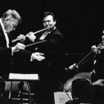 Robert Shaw conducting a chamber ensemble.