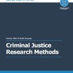 Textbook Cover for Criminal Justice Research Methods