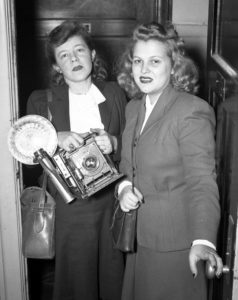 Kay Cain and Jane Noland, 1943