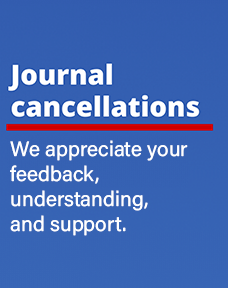 Journal cancellation form login